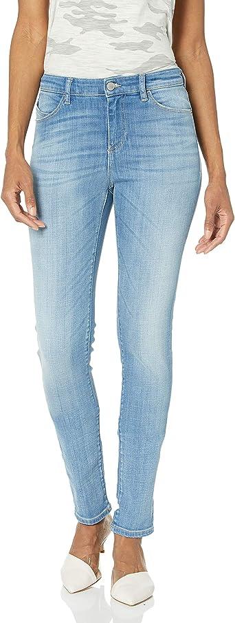Emporio Armani Pantalones Vaqueros Ajustados Para Mujer Amazon Es Ropa Y Accesorios