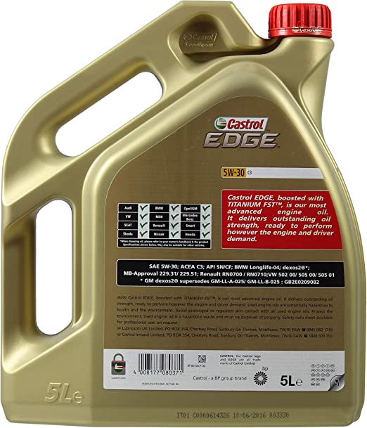 7l Motoröl Castrol Edge 5w 30 C3 2x Mannol Motor Flush Additiv Auto