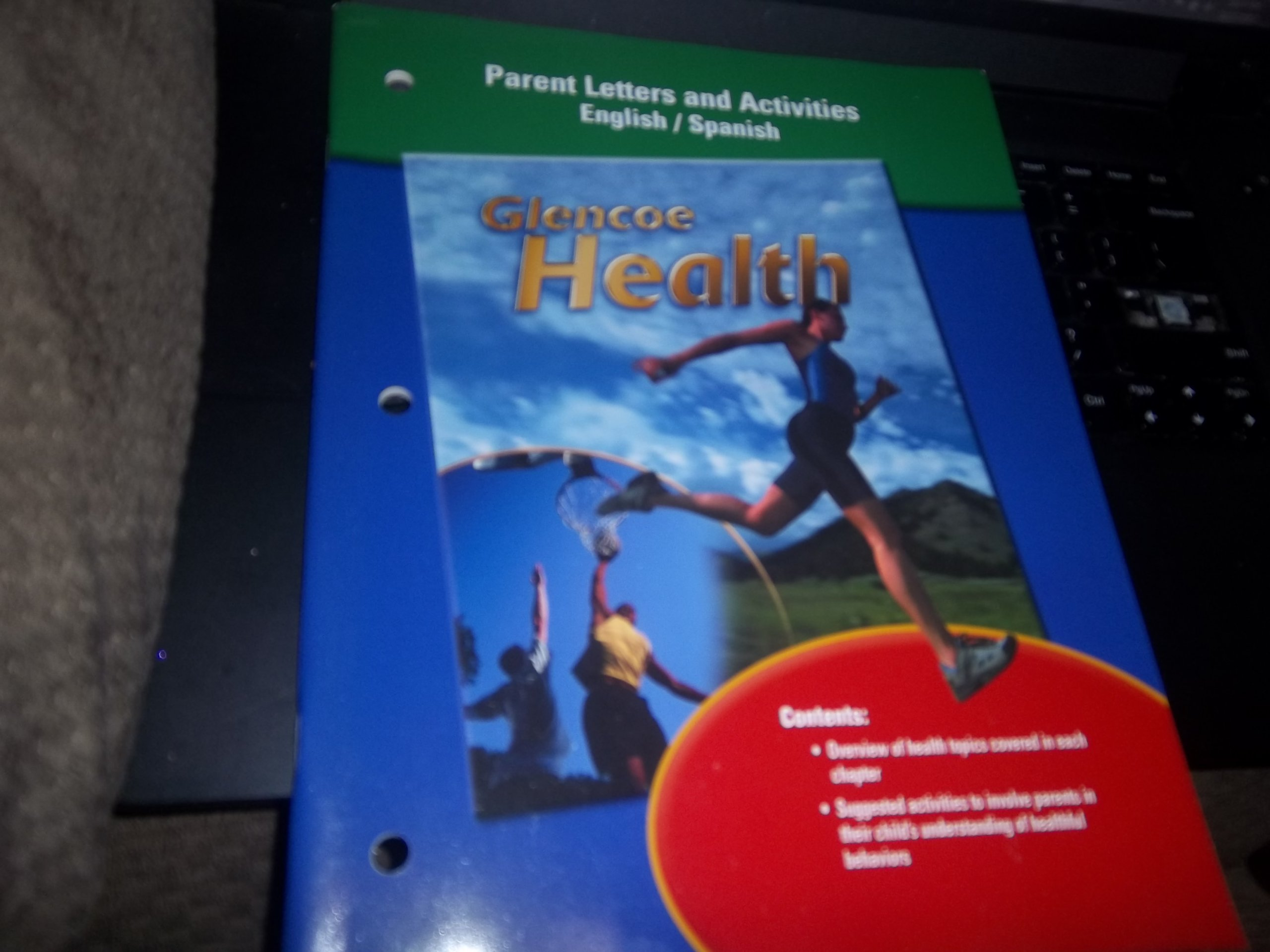 Read Online Glencoe Health, Parent Letters and Activities (English/Spanish) pdf