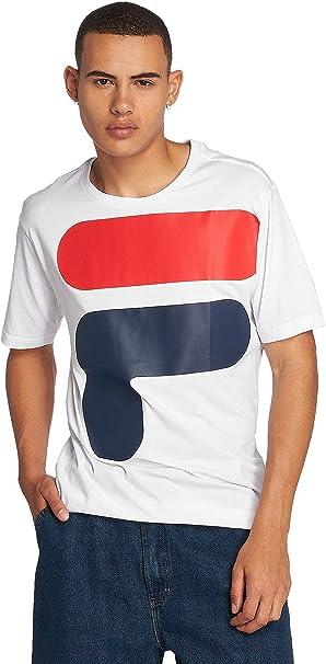 TALLA S. Fila T-Shirt Uomo Mod. 681844 White