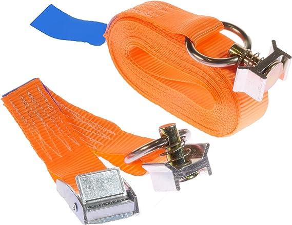 25 mm 10 cinghie di fissaggio per binari Airline con attacco finale 5 metri Kurierbedarf.com