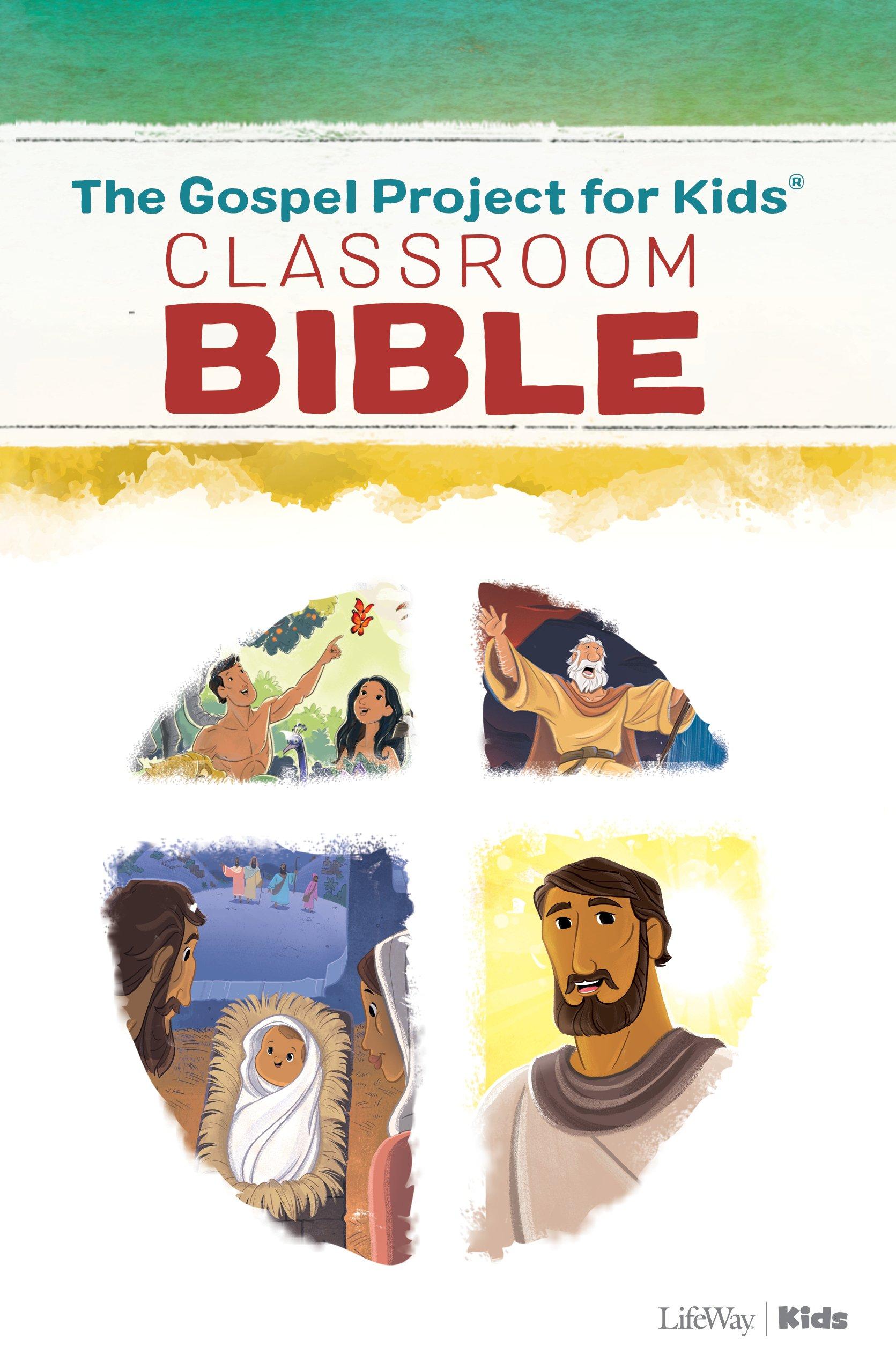 The Gospel Project For Kids Classroom Bible Amazon Ca Lifeway Kids Books