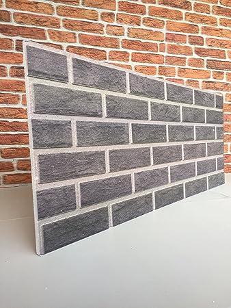 Steinoptik Wandverkleidung für Wohnzimmer, Küche, Terrasse oder  Schlafzimmer in Klinkeroptik Look. (ST 353-113)