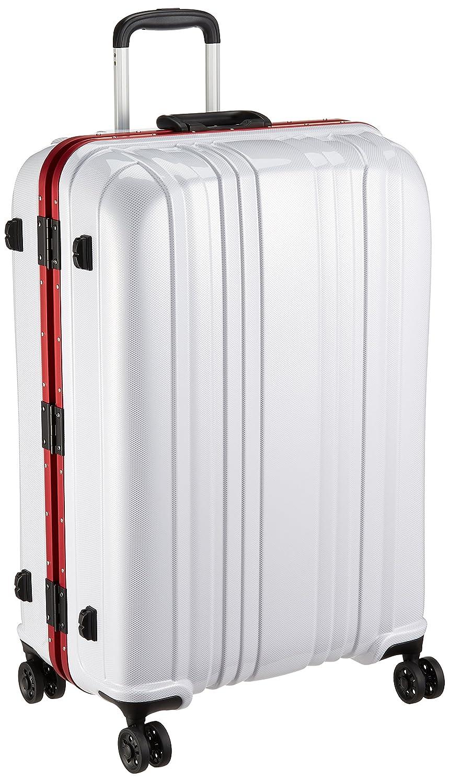 [エスケープ] ハードフレームスーツケース シフレ 1年保証付 保証付 88L 75cm 5.3kg ESC1046-68  カーボンホワイト B072KN68DF