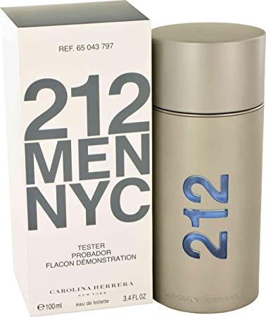 90cd7039aa Amazon.com : 212 NYC by Carolina Herrera - Eau De Toilette Spray (Tester)  3.4 oz : Beauty