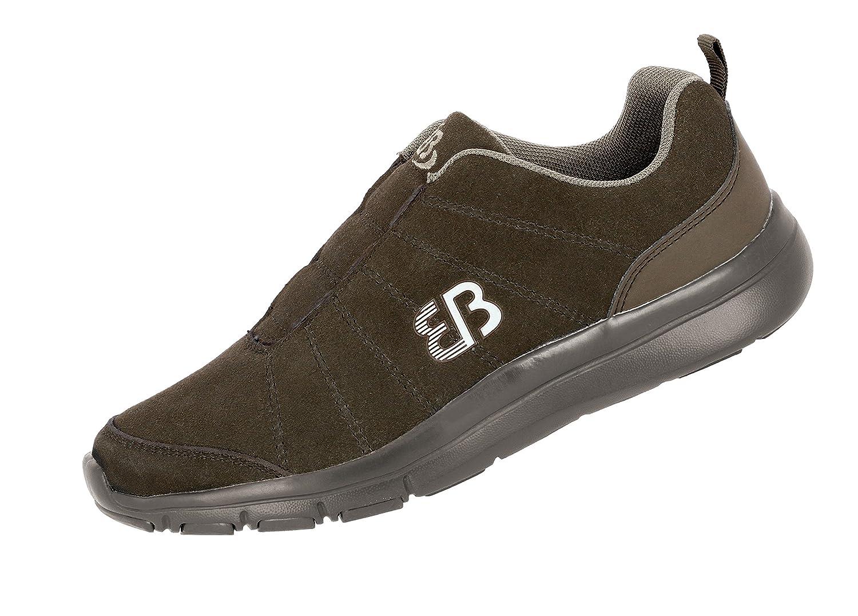 Bruetting Herren Dallas Slipper Slip on Sneaker Braun Braun/Beige Braun/Beige