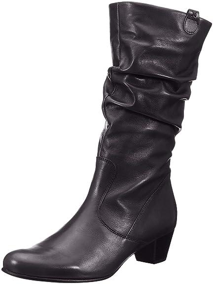 385b9fe4c9c5d Gabor Shoes Women's Comfort Basic High Boots, Black (Schwarz (Micro) 57)