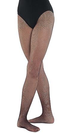 b78b4ef40ca03 Girl's fishnet dance ballet tights: Amazon.co.uk: Clothing