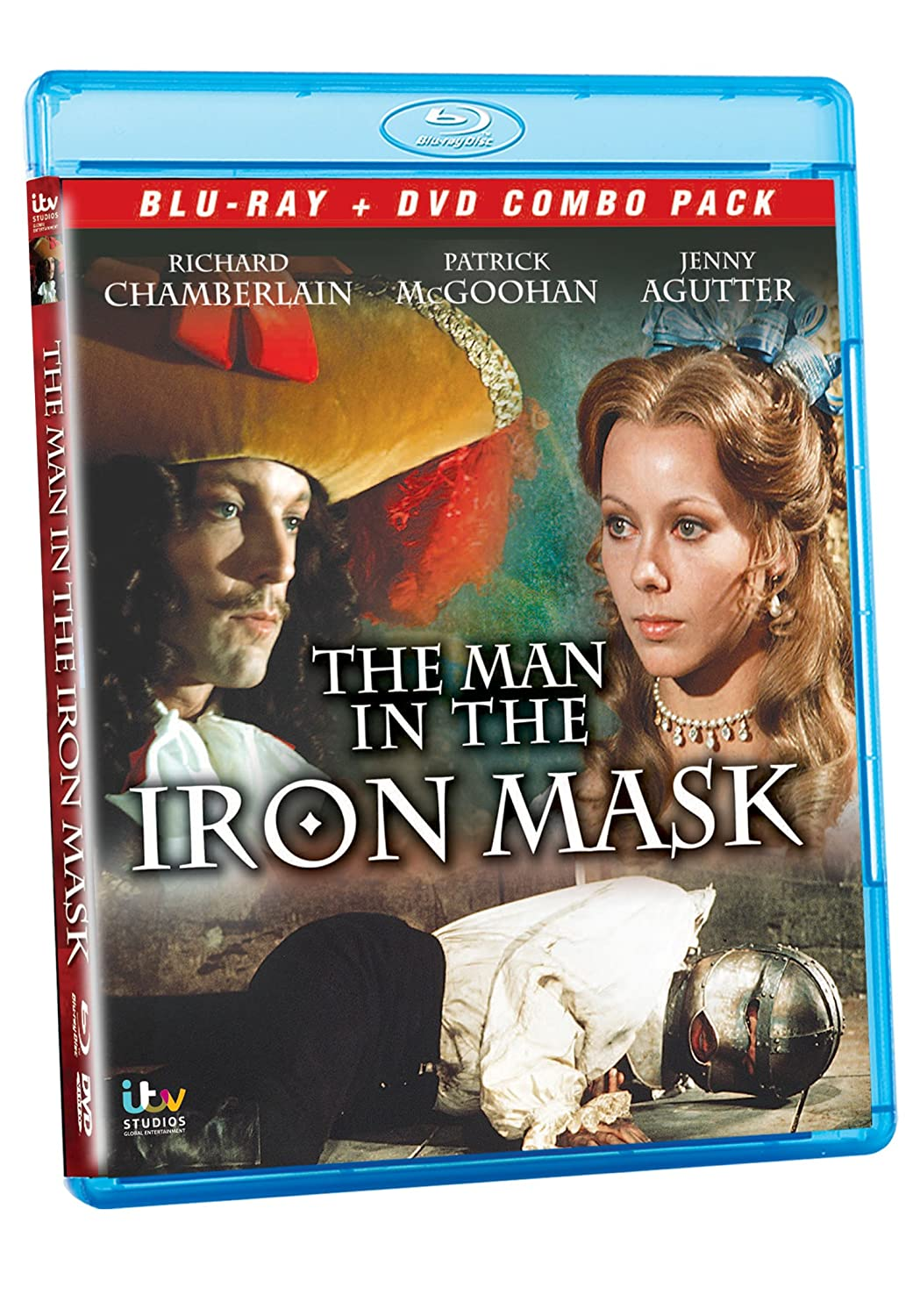 The Man in the Iron Mask [Francia] [Blu-ray]: Amazon.es: Richard Chamberlain, Louis Jourdan, Esmond Knight, Godfrey Quigley, Denis Lawson, Anne Zelda, ...