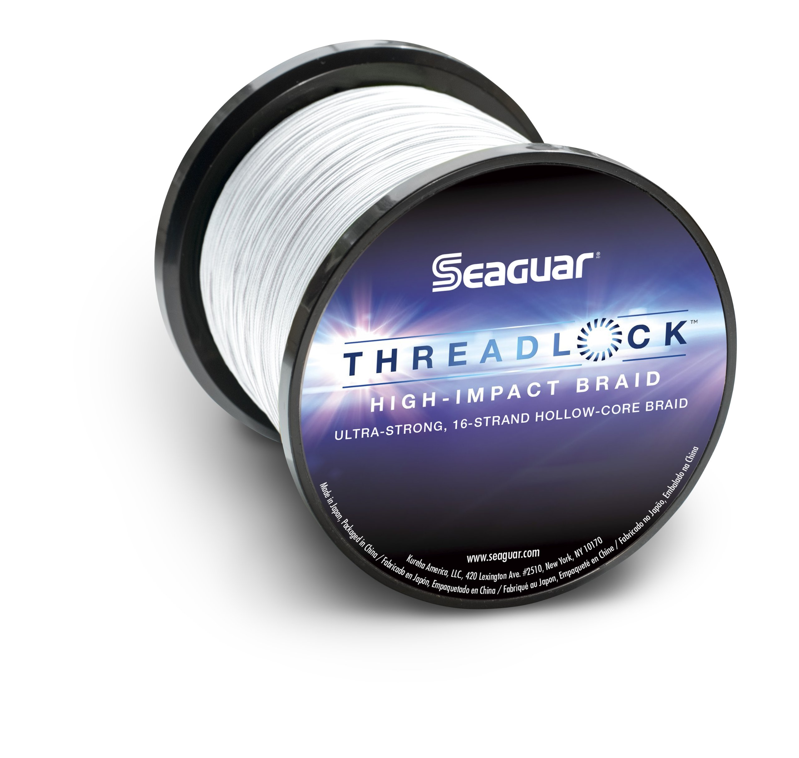 Seaguar  Threadlock Braided Fishing Line, Hi-Vis White, 80-Pound/600-Yard by Seaguar