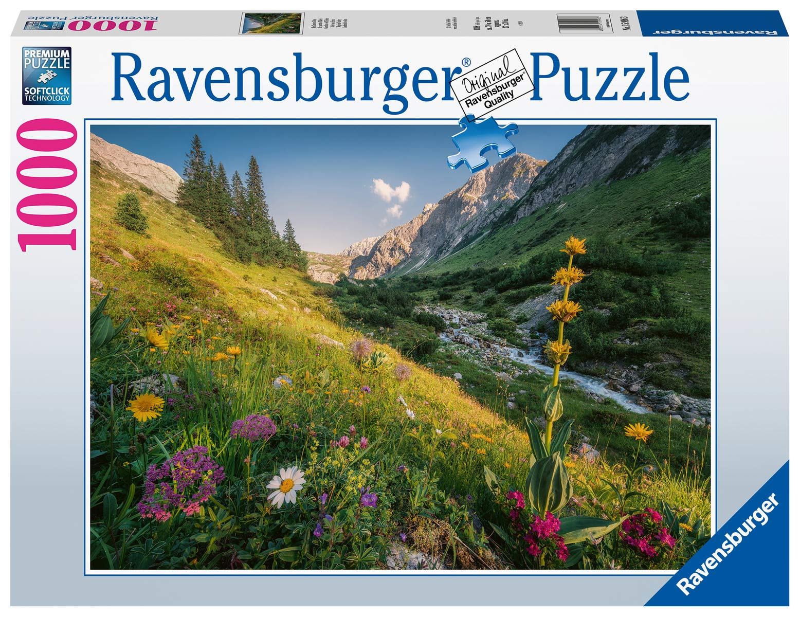 Ravensburger Magical Valley 1000 Piece Jigsaw Puzzle for Adults & for Kids Age 12 and Up