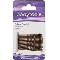 Body Tools Hair Bobby Pins 20 Pack, Bronze
