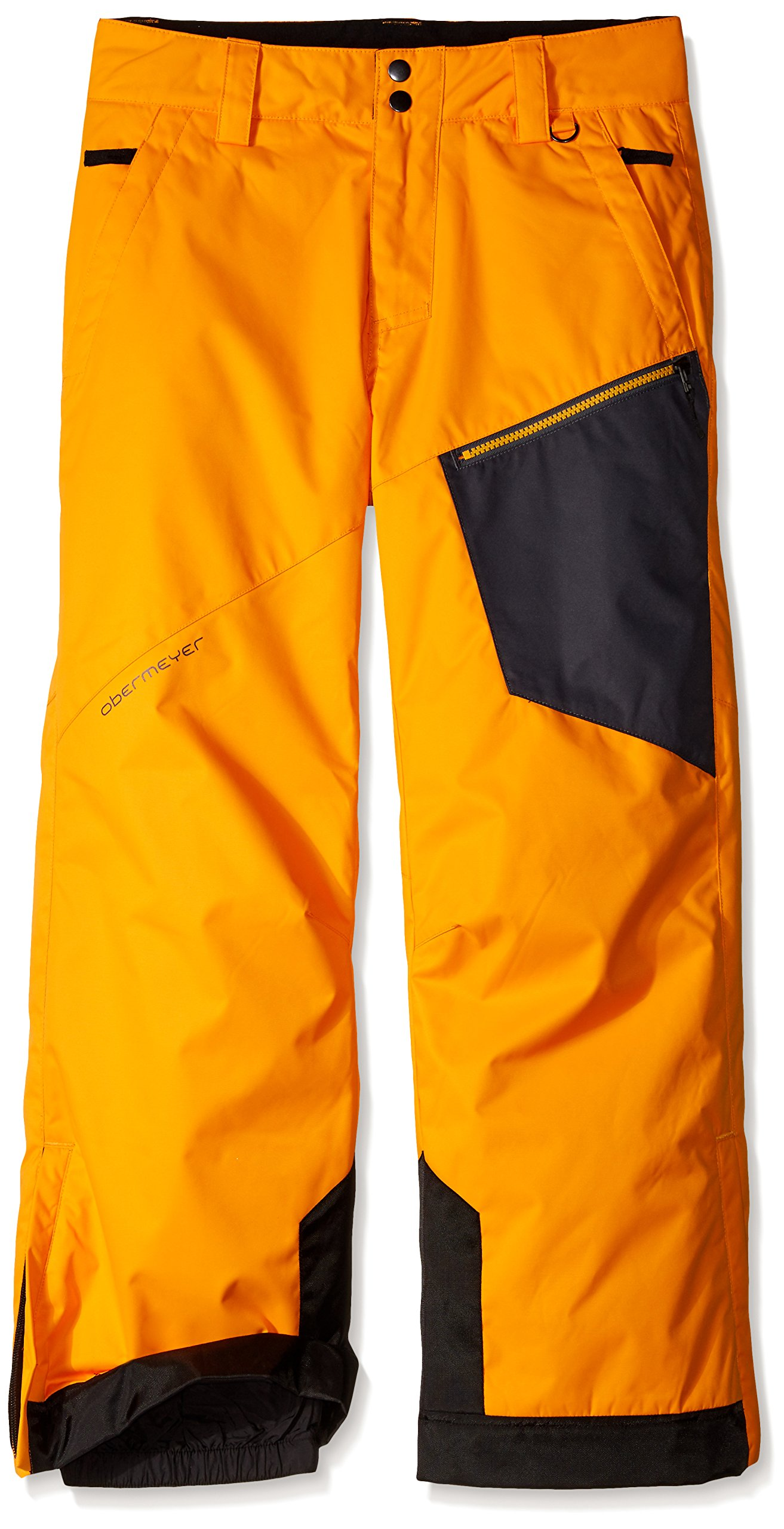 Obermeyer Boys Pro Pants, Small, Habanero