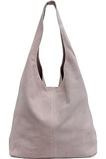 Tl618 Shopper Bag Caspar Damen Ledertasche Beuteltasche Hobo bf76gy