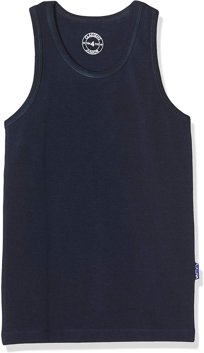 Claesens Boys CLN 150 Singlet Striped Vest Top