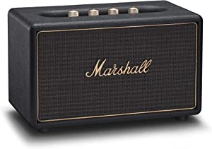 Marshall Acton Multi-Room Wireless Bluetooth Speaker, Black