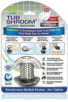 TubShroom Ultra Revolutionary Bath Tub Drain Protector