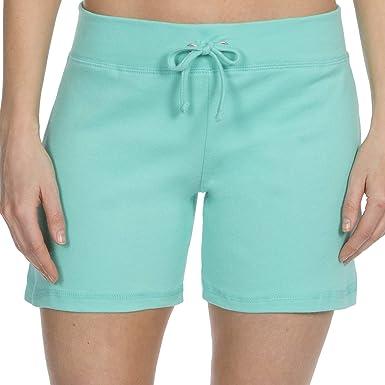Label Your Love - Pantalones cortos de algodón para mujer: Amazon ...