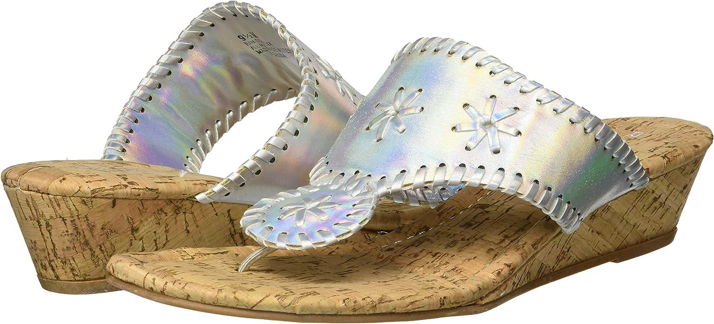 Rampage Womens Scheena Whip Stitch Cork Thong Sandal