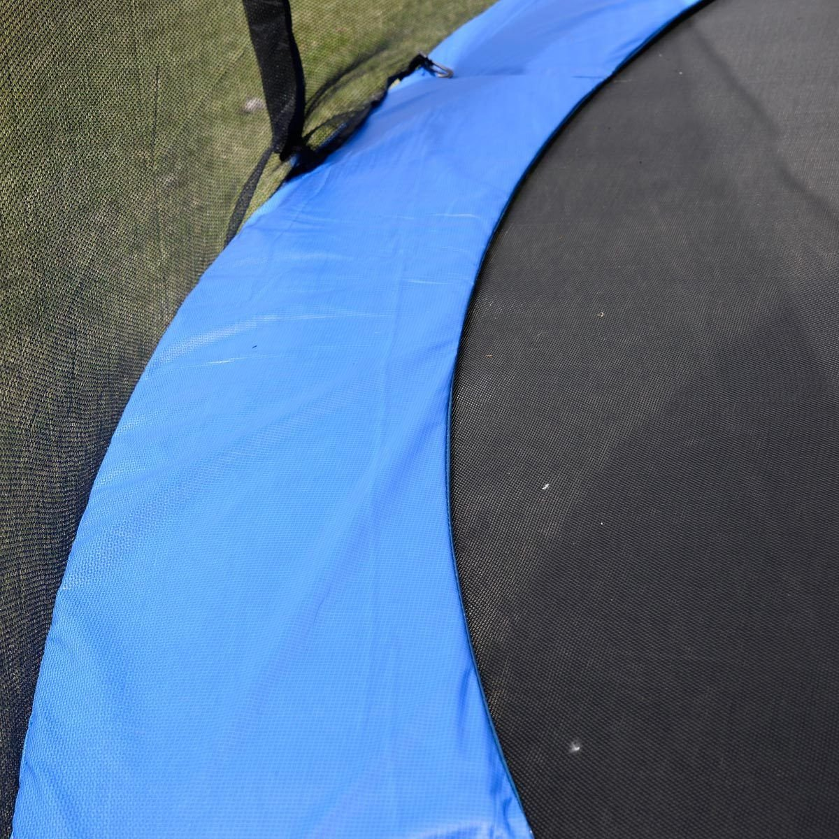 Safety Round Frame Blue Pad Spring Pad Replacement Cover for 10FT Trampoline New