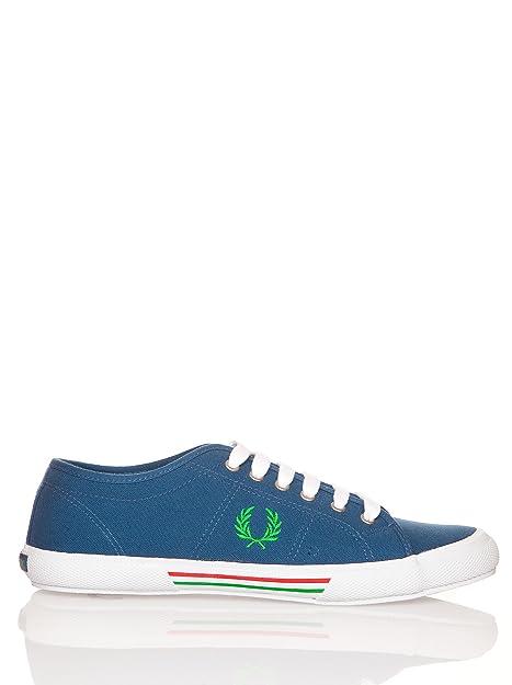 Fred Perry Vintage Tennis Canvas B708 - Zapatillas para Hombre: Amazon.es: Zapatos y complementos