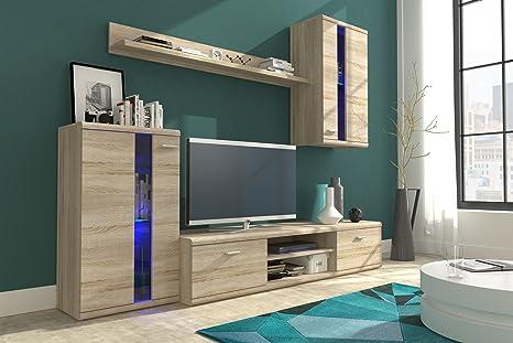 Set di mobili composta mobile da appoggio, porta TV, pensile a ...