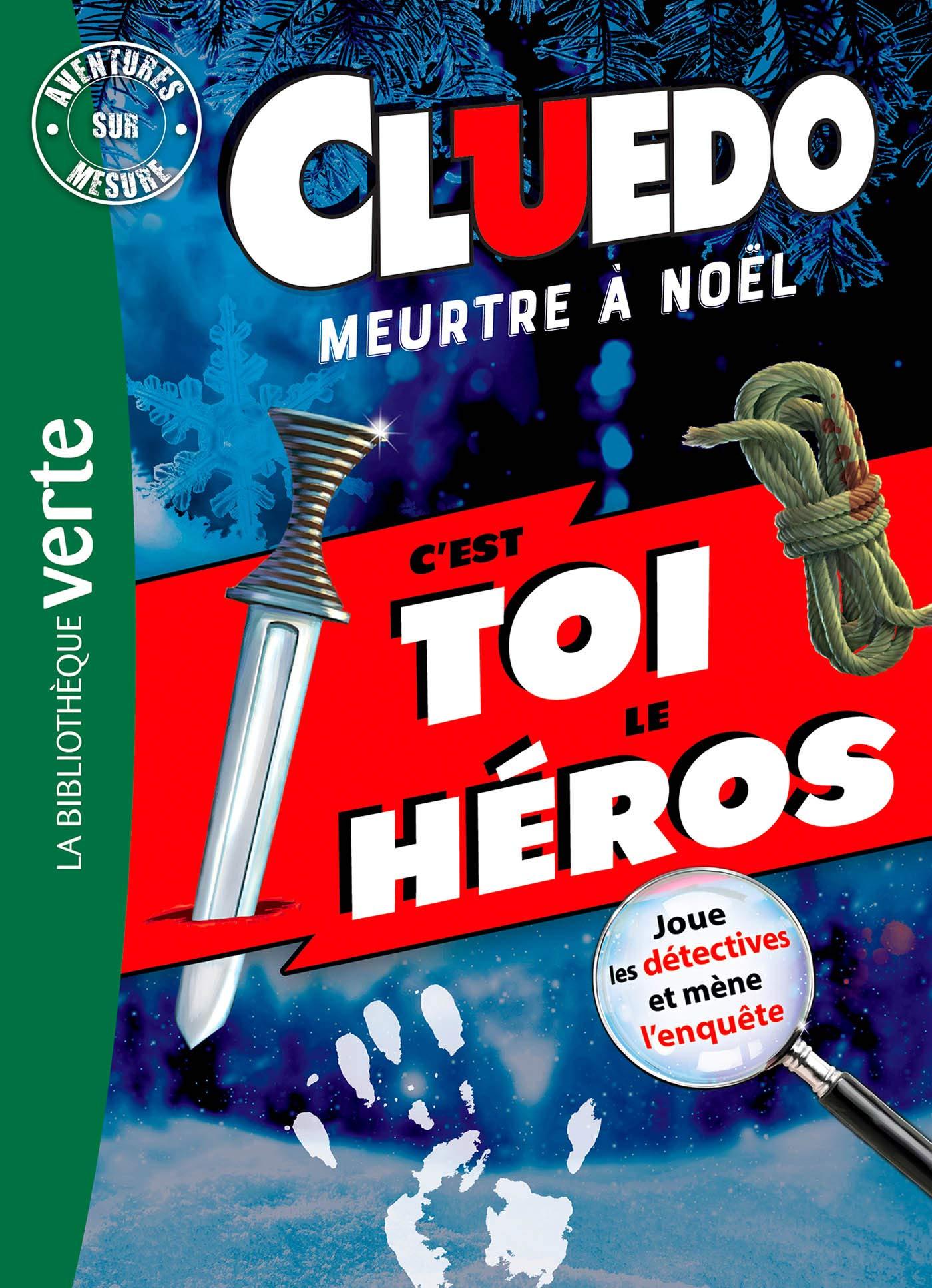 Cluedo - Aventures sur mesure XXL - Meurtre à Noël: 0 Bibliothèque Verte Plus: Amazon.es: Hasbro: Libros en idiomas extranjeros