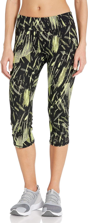 Marc New York Performance Womens Print Nylon Span Crop Legging
