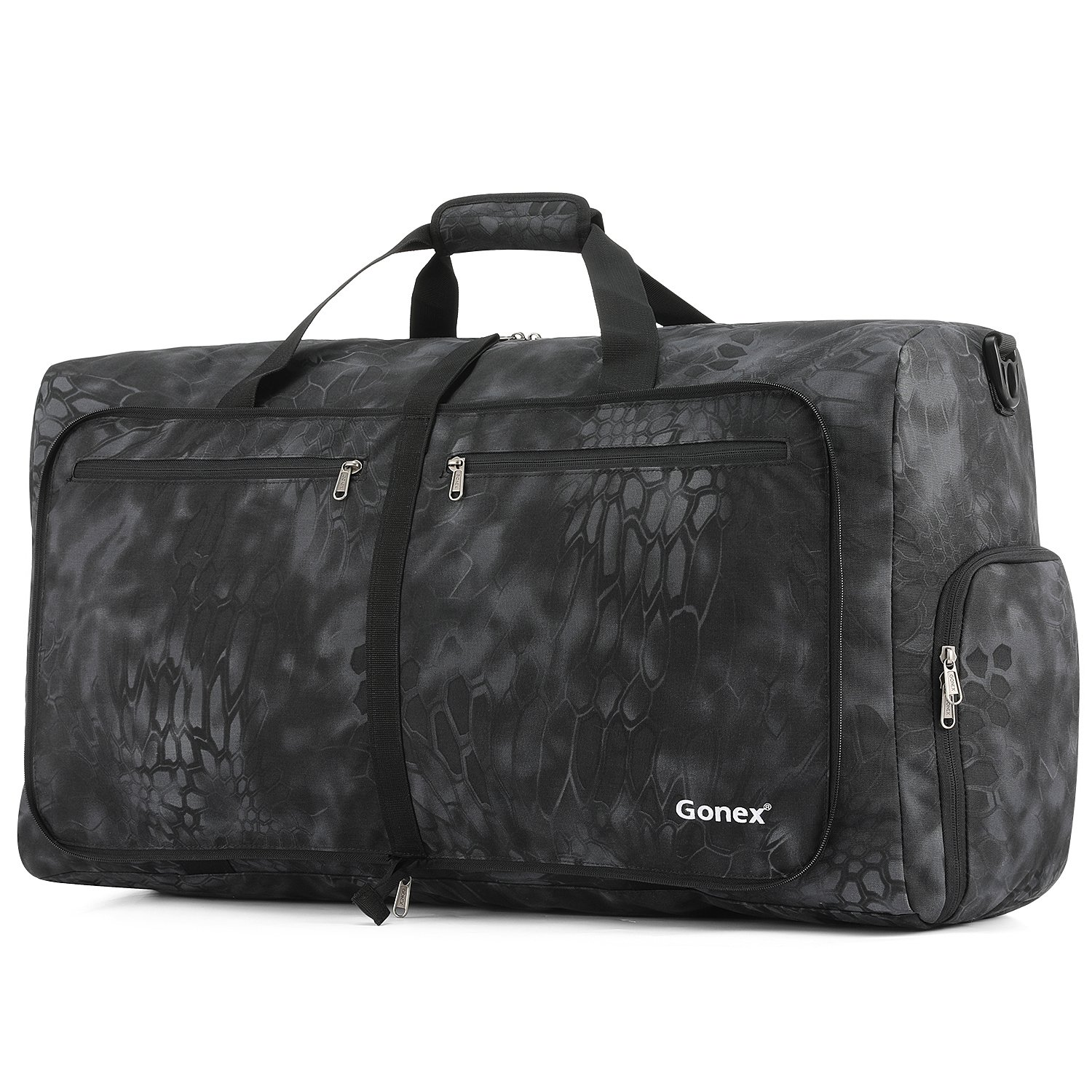 Gonex Cordura Duffle Bag, Packable Travel Duffel Water Resistant, 60L(Typhon) by Gonex