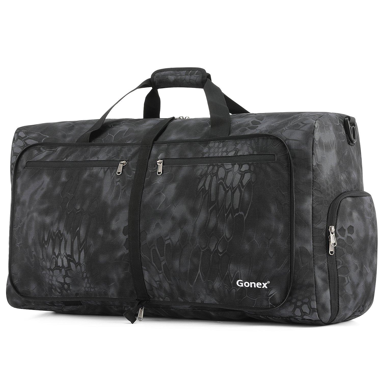 Gonex Cordura Duffle Bag, Packable Travel Duffel Water Resistant, 60L(Typhon) by Gonex