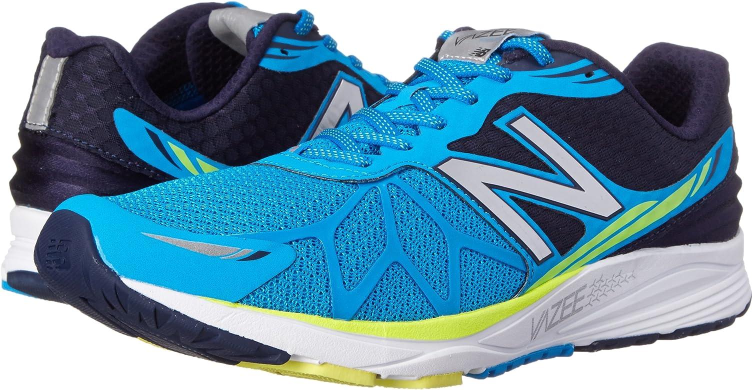 New Balance Mpace D - Zapatillas de correr de lona hombre, azul - Blau (by Blue/yellow), 44: Amazon.es: Zapatos y complementos