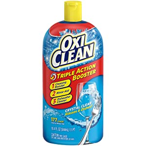 OxiClean Triple Action Dishwashing Booster, 18.4 oz.