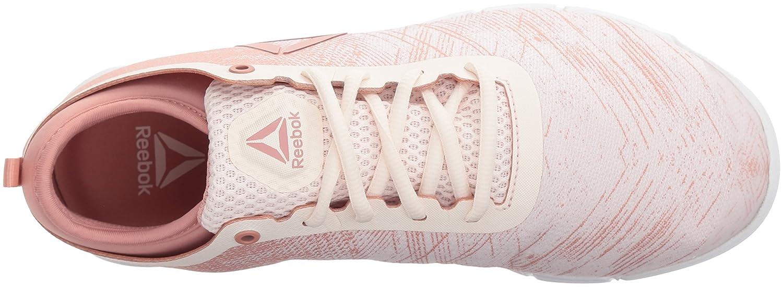 Reebok Women's Grace Tr 2.0 Sneaker B073X9J8B1 8 B(M) US|Pale Pink/Chalk Pink/White/Silver