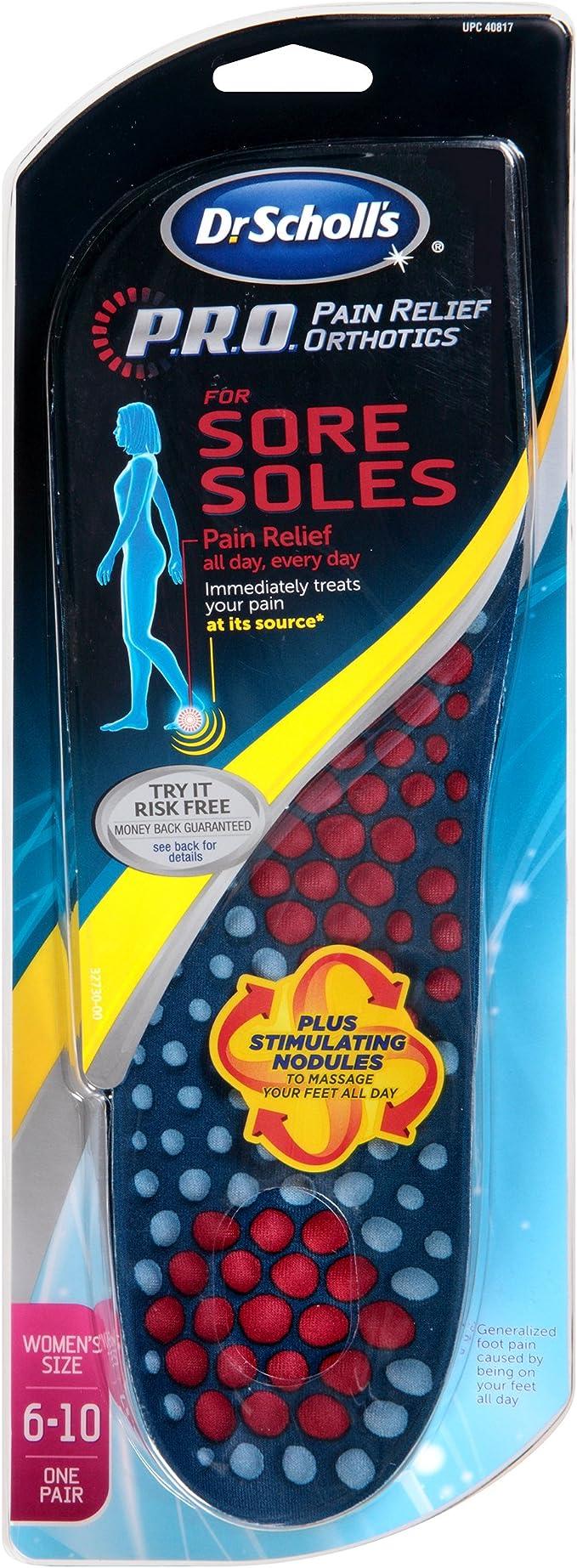 Pain Relief Orthotics Sore Soles
