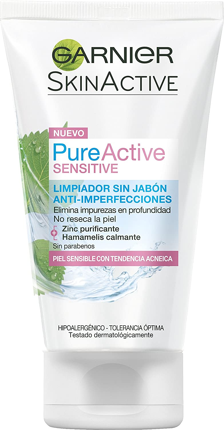 Amazon.com: Pure Active Sensitive Cleansing Gel 150ml Anti-Imperfection: Beauty