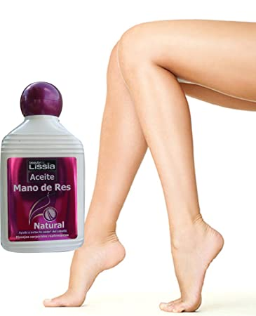 LISSIA-Aceite mano de res, engrosador del cabello, humectante y recuperador. Aumenta