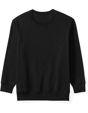 4decc190f1 Amazon Essentials Men s Big   Tall Crewneck Fleece Sweatshirt fit ...