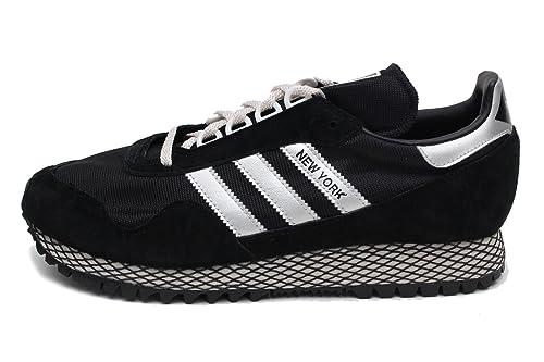 adidas - New York da Uomo, Nero (Black/Silver), 41 EU ...