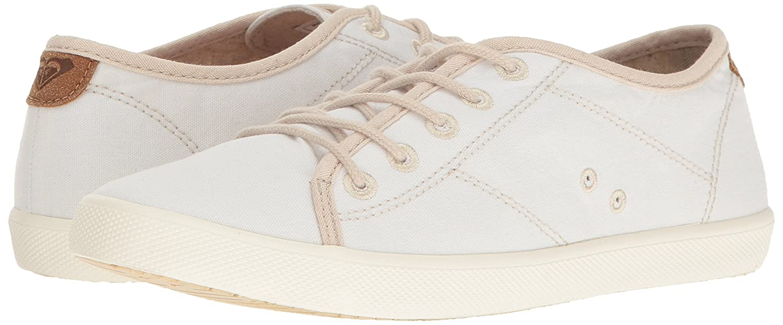 Roxy Sneaker Women's Memphis Lace up Shoe Fashion Sneaker Roxy B01GOLLQWE 10 B(M) US|White 92662b