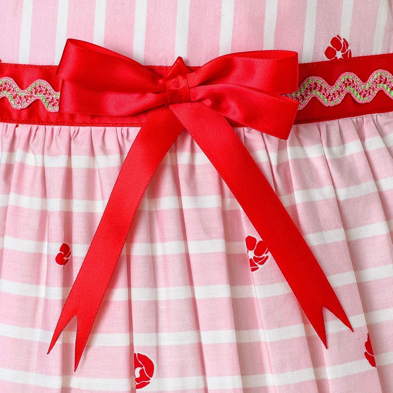 Sunny Fashion Vestito Bambina Marina Militare Blu Farfalla Festa Principessa Bambino Abiti 4-12 Anni