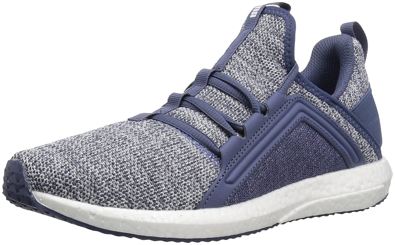 PUMA Women's Mega Nrgy Knit Wn Sneaker B0721N93SG 11 B(M) US Blue Indigo-puma White