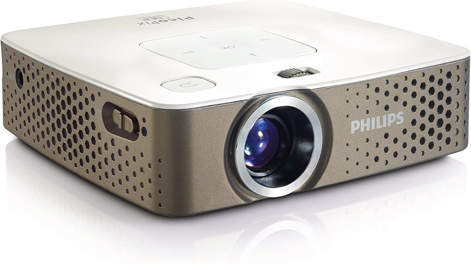 Philips PPX3410 100 lumens with MP4 player Pocket Proyector ...