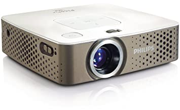 Philips PPX3410 100 lumens with MP4 player Pocket Proyector