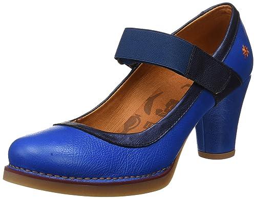1071 Memphis St.Tropez, Zapatos de Tacón con Punta Cerrada para Mujer, Rosa (Magenta), 37 EU Art