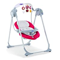 Chicco Polly Columpio Hasta 07079110710000 bebé swing, pimentón