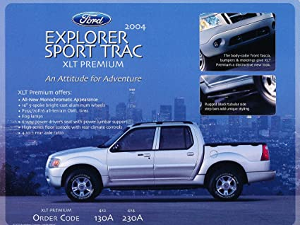 Amazon 2004 Ford Explorer Sport Trac Xlt Premium Adrenalin 1