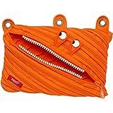 ZIPIT Monster 3-Ring Pencil Case, Orange