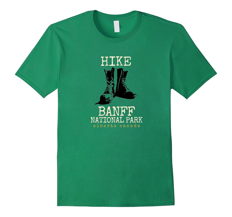 Banff National Park T-Shirt, Hike Banff Alberta Canada Shirt-TH