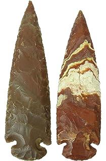 25 Arrowheads Modern Reproductions Flint Knapping 1.5 inch