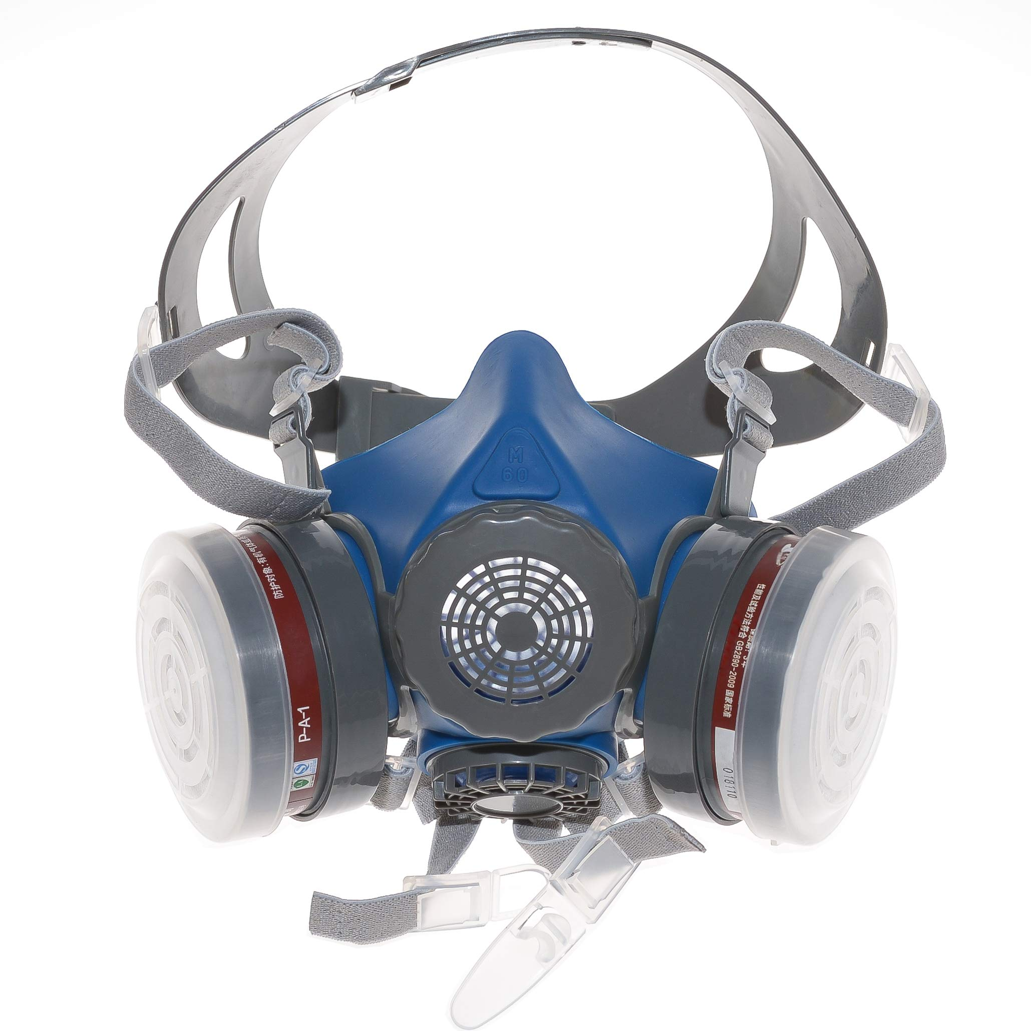 HXMY Anti-Dust Industrial Spray Paint Polishing Respirator Reusable Face Mask